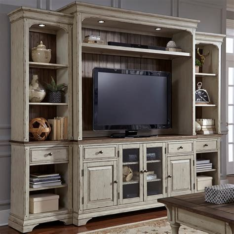 vintage entertainment center liberty furniture creek relaxed vintage 3193