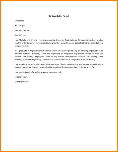 15422 cover letter exles for resume 6 cover letter exles resume type
