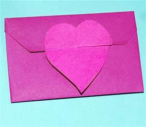 Comment Fabriquer Une Enveloppe : pliage d 39 une enveloppe coeur en papier origami t te ~ Melissatoandfro.com Idées de Décoration