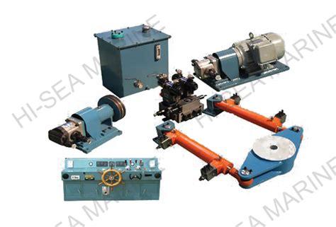 Marine Hydraulic Steering Gear by Oscillating Hydraulic Type Steering Gear Supplier China