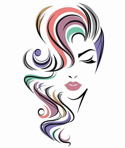 Hair Face Vector Background Clipart Icon Illustration