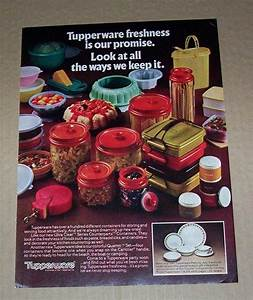 Tupperware Alte Kollektion : tupperware ad circa 1981 vintage tupperware ads pinterest ~ Eleganceandgraceweddings.com Haus und Dekorationen