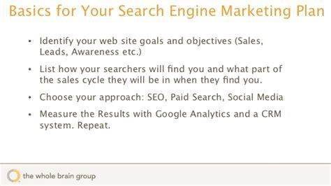 Search Engine Marketing Basics by Marketing 101 Search Marketing Basics
