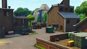 Image Salty Factoryjpg Fortnite Battle Royale Map
