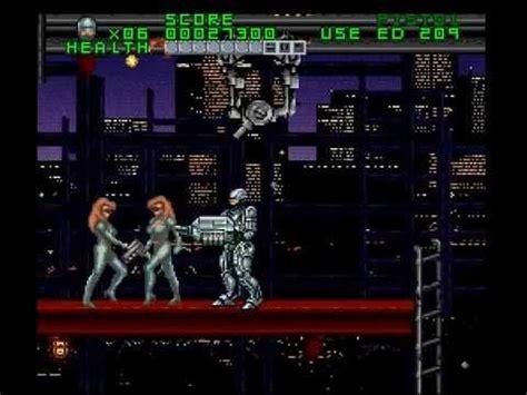 city on robo snes longplay robocop vs terminator