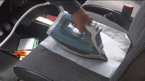 reparation siege voiture réparation siège tissu déchirure auto tissu