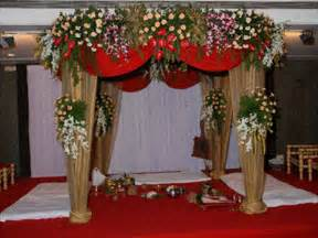 indian wedding decorations flowers