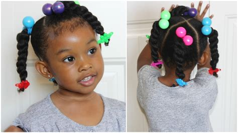 Kid Hairstyles by Ponytails Twists Hairstyles For