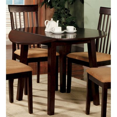 mino cherry drop leaf  dining table
