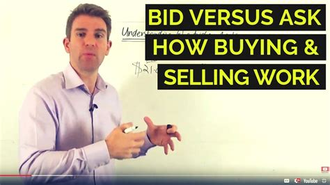 bid e ask bid vs ask prices how buying and selling work
