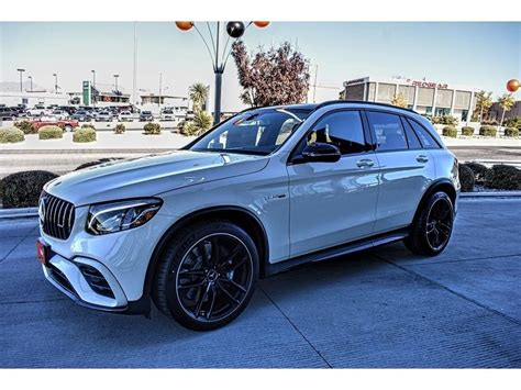 New 2019 Mercedesbenz Glcclass Amg Glc 63 4matic Suv In