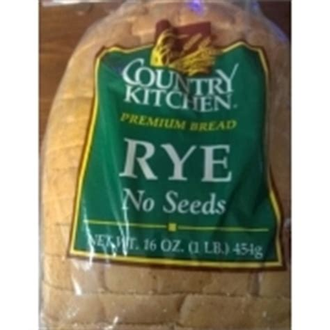 Country Kitchen Seedless Rye Bread Calories, Nutrition