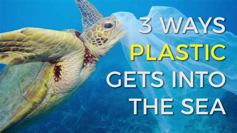 how does plastic end up in our oceans youtube