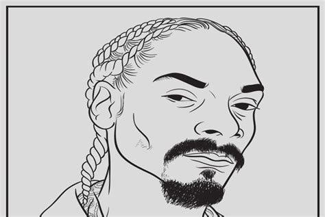 Rap Icon Releases Coloring Book For Grown Ups [pics] Psfk
