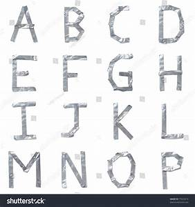 letters made out of tape stock photo 77623213 shutterstock With letters made out of pictures