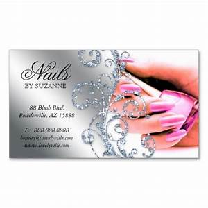 19 best nails business card images on pinterest for Nails business cards design