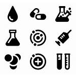 Icon Chemistry Lab Icons Chemical Vector Library