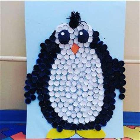 penguin craft idea  kids crafts  worksheets  preschooltoddler  kindergarten