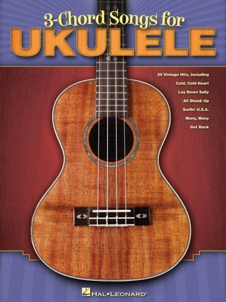 Gifts and music specialises in quality music gifts and music themed cards for musicians and people who are passionate about music. 3-Chord Songs for Ukulele Sheet Music Ukulele Book NEW 000701900   eBay