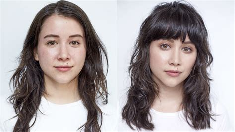 awesome hair makeover  convince    bangs