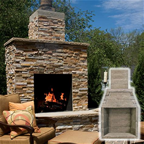 outdoor wood burning fireplace kits 36 in firerock masonry outdoor wood burning fireplace