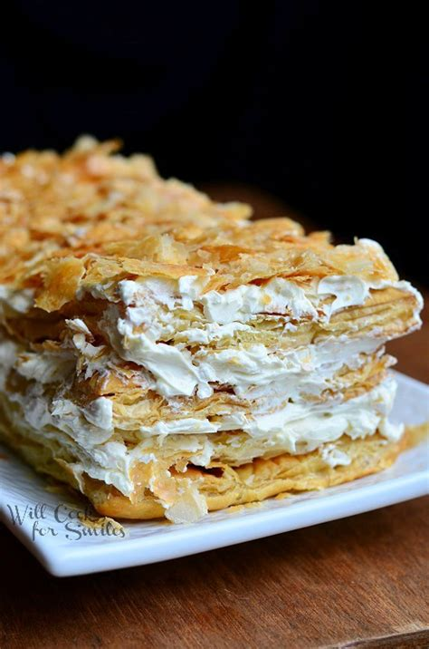 napolean pastry napoleon cake will cook for smiles