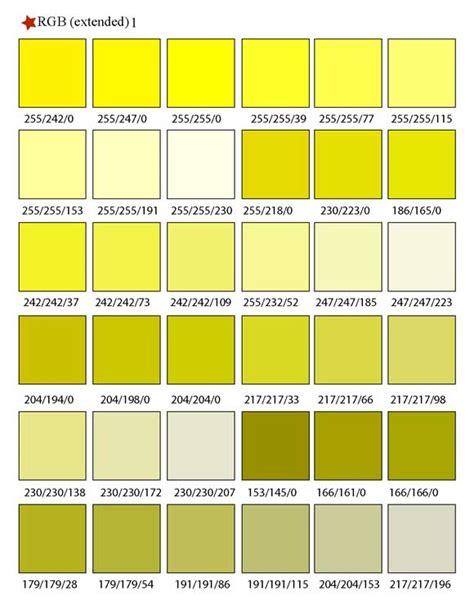 printable rgb color palette swatches sle1 color