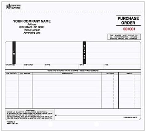 pocc   purchase order jb forms