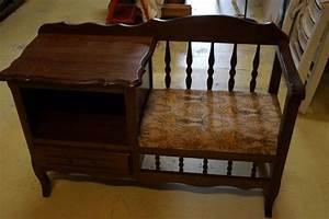 Meuble Pour Téléphone : meuble siege telephone occasion clasf ~ Teatrodelosmanantiales.com Idées de Décoration