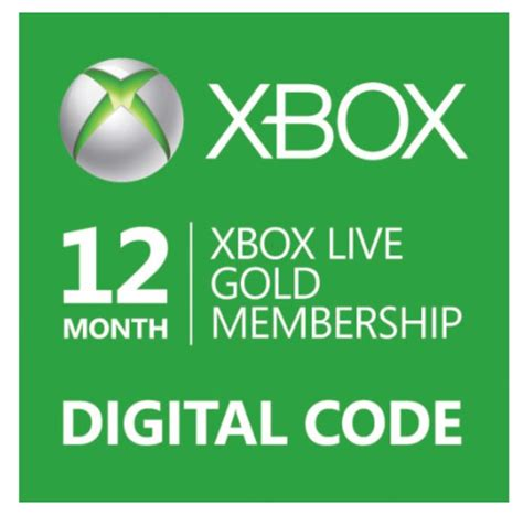 Xbox Live And Xbox Live Gold Deal 12 Month Xbox Live Gold Membership For Only 39 99