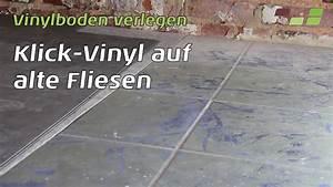 Parkett Auf Fliesen : vinylboden auf fliesen verlegen planeo klick vinyl youtube ~ Markanthonyermac.com Haus und Dekorationen