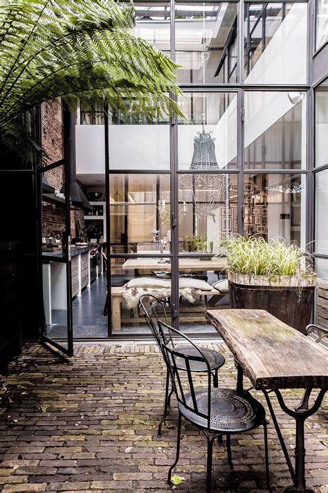 conversion cuisine mesure tendance les fenêtres en aluminium style industriel