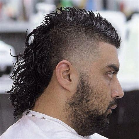 modern permed mullet hairstyles   cool mens hair