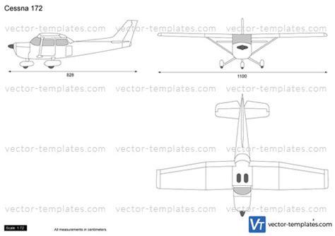 cessna 172 templates templates modern airplanes cessna cessna 172