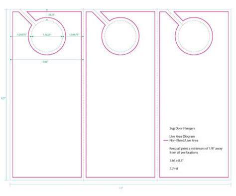 door hanger template word research door hanger caign item project visual express ion 3