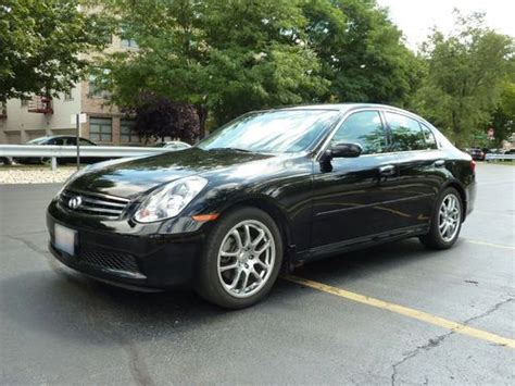 Sell Used 2005 Infiniti G35 6mt Sedan 4-door 3.5l W