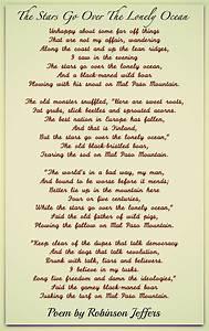 Robinson, Jeffers, Poems