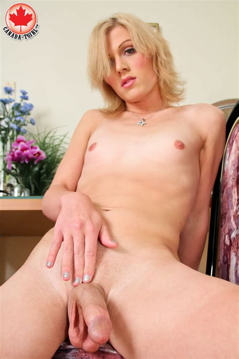 Dirty Blonde Tranny In A Jeans Skirt And Tr Xxx Dessert Picture 15