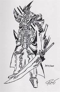 tribal knight 2 by RoyCorleone on deviantART