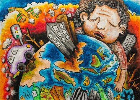 barbara petchenik childrens world map drawing competition