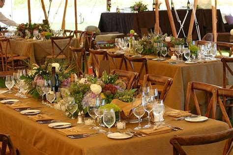rustic table decorations we love table decor rustic wedding chic