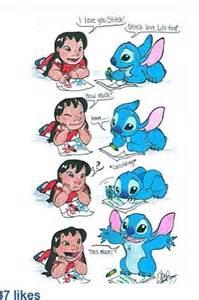 Cute Lilo and Stitch Drawing