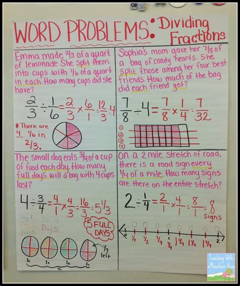 fraction word problems for year 2 y3 4 word problems for