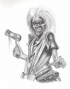 Iron Maiden, Killers by gothicwhisper on DeviantArt