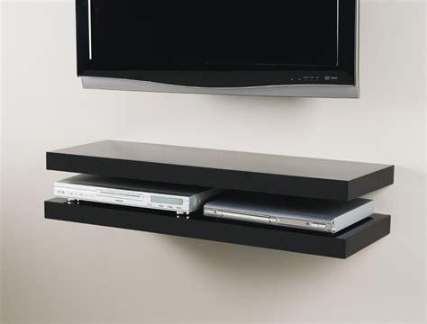 white wall shelves black media floating shelf kit 900x300x50mm mastershelf