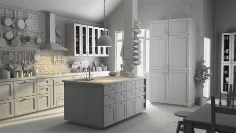 cuisine ikea blanche cuisine en l ikea