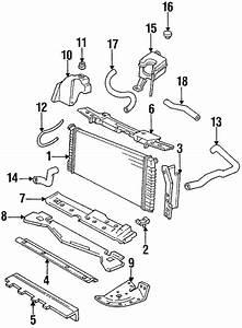 Radiator  U0026 Components For 1999 Cadillac Deville  Base