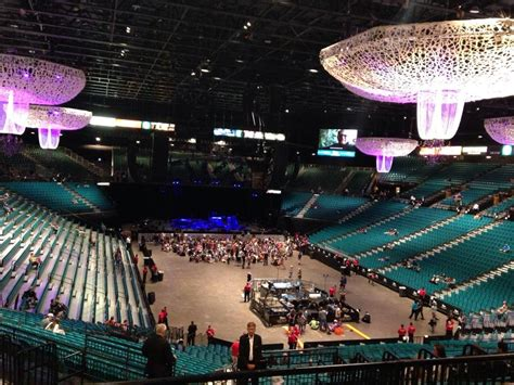 mgm garden arena mgm grand garden arena section 203 rateyourseats