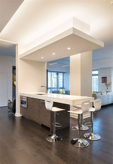 modern contemporary led strip ceiling light design