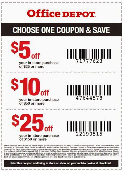 Office Depot Coupon Code by 20 Office Depot Printable Coupon Belk Coupons